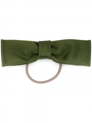 Резинка для волос бантом Le Monde Beryl. Цвет: зеленый