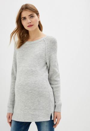 Джемпер Gap Maternity. Цвет: серый