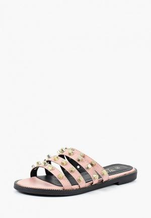 Сабо WS Shoes. Цвет: розовый
