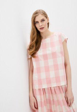 Блуза Woolrich. Цвет: розовый