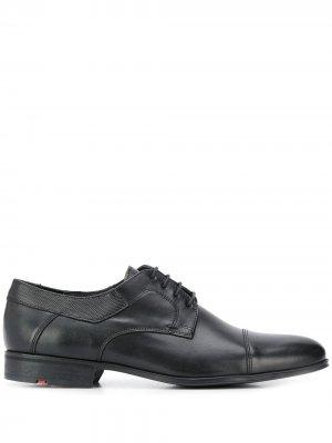 Туфли дерби с декоративной строчкой Lloyd. Цвет: черный