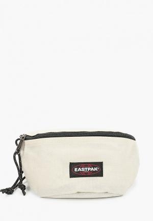 Сумка поясная Eastpak. Цвет: белый