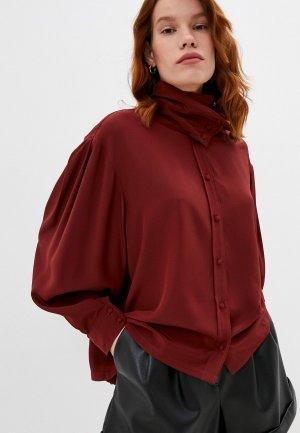 Блуза Iro. Цвет: коричневый