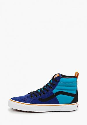 Кеды Vans. Цвет: синий