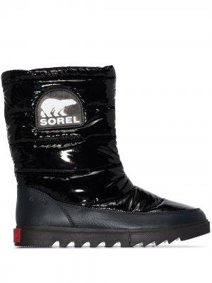 Дутые ботинки Joan of Arctic SOREL. Цвет: черный