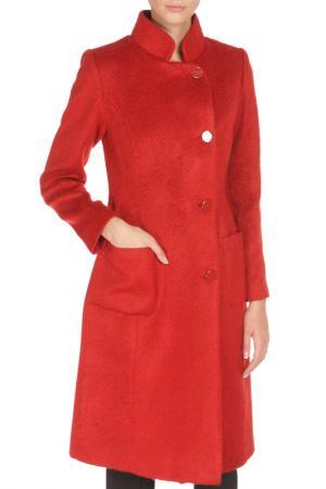 Пальто BGN. Цвет: fire red / ярко-красный