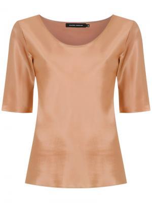 Silk blouse Gloria Coelho. Цвет: нейтральные цвета
