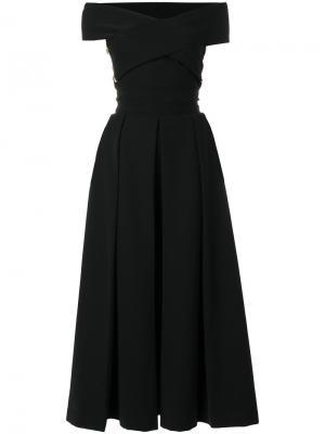 Платье Virginia Preen By Thornton Bregazzi. Цвет: черный