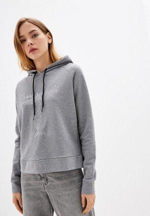 Худи Trussardi Jeans. Цвет: серый