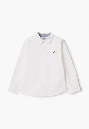 Рубашка Petit Bateau. Цвет: белый