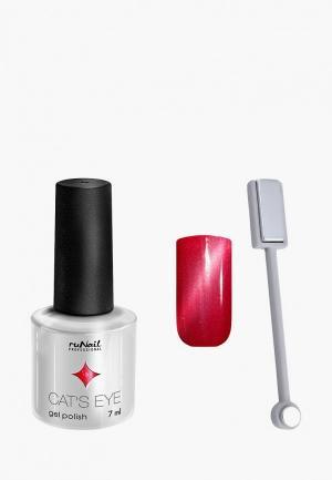 Набор для ухода за ногтями Runail Professional. Цвет: красный