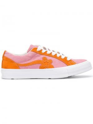 Floral embellished sneakers Converse. Цвет: розовый