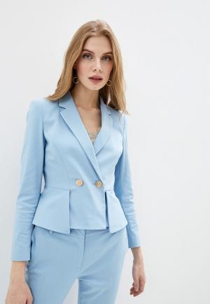 Пиджак Liu Jo. Цвет: голубой