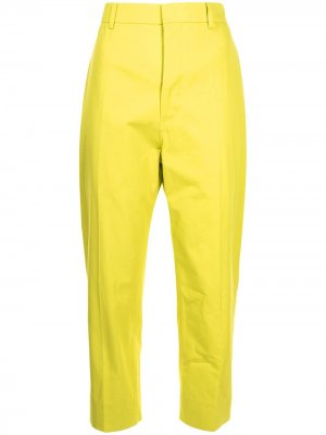 Sofie Dhoore укороченные брюки узкого кроя D'hoore. Цвет: желтый