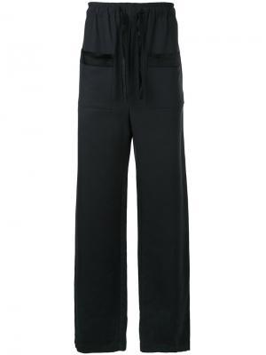 Пижамные брюки Verre Ex Infinitas. Цвет: черный