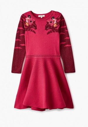 Платье Catimini. Цвет: розовый