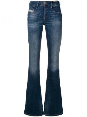 Расклешенные джинсы D-ebbey Diesel. Цвет: синий