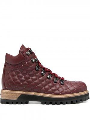 Трекинговые ботинки St.Moritz Le Silla. Цвет: красный