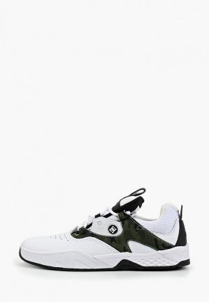 Кроссовки DC Shoes. Цвет: белый