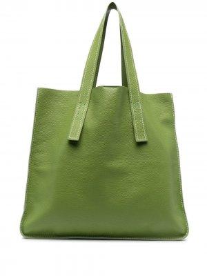 Большая сумка-тоут Farry P.A.R.O.S.H.. Цвет: зеленый