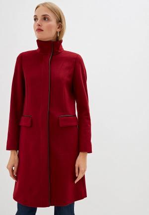 Пальто Hugo. Цвет: красный