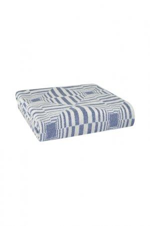 Плед 150X200 Nyla Arya home collection. Цвет: голубой