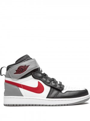Кроссовки Air  1 Flyease Particle Grey Jordan. Цвет: черный