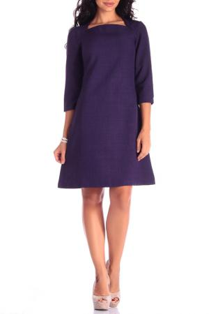Платье REBECCA TATTI. Цвет: темно-фиолетовый