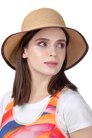 Шляпа DISPACCI. Цвет: коричневый