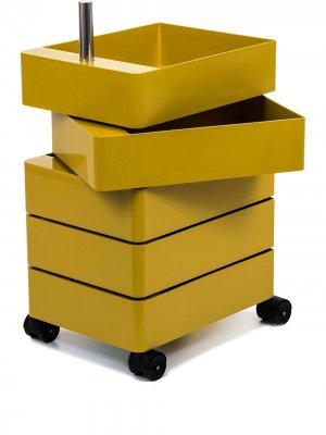 Тумба на колесиках magis. Цвет: желтый