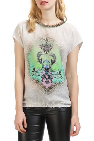Блуза Apanage. Цвет: бежевый