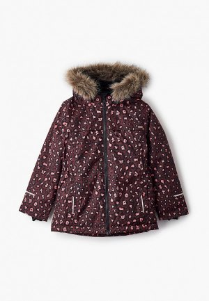Куртка утепленная Name It. Цвет: бордовый
