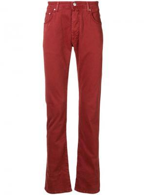 Regular fit jeans Jacob Cohen. Цвет: красный