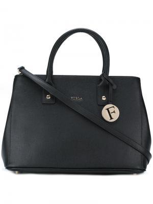 Средняя сумка на плечо Linda Furla. Цвет: чёрный