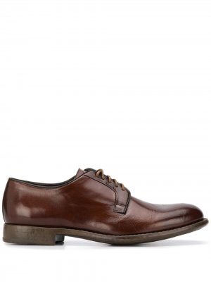 Doucals туфли на шнуровке Doucal's. Цвет: коричневый