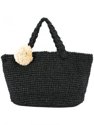 Пляжная сумка Carradine Malibu 0711. Цвет: черный
