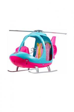 Игрушка вертолёт - путешествие Barbie. Цвет: голубой