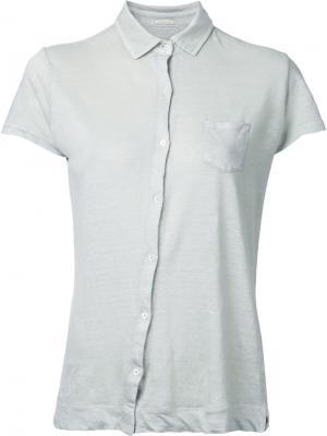 Рубашка с короткими рукавами Massimo Alba. Цвет: нейтральные цвета