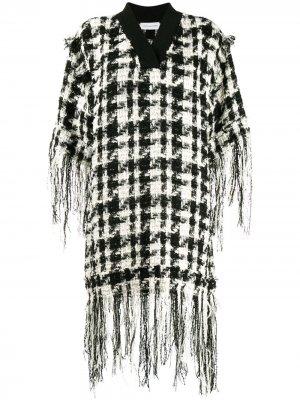 Вязаное платье из джерси Faith Connexion. Цвет: черный