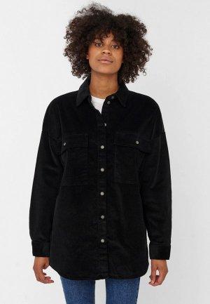 Рубашка Noisy May. Цвет: черный