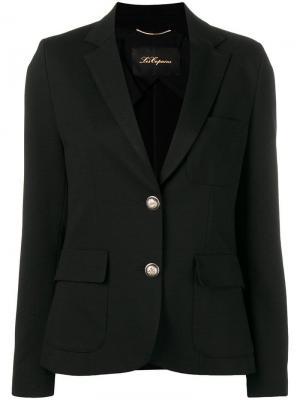 Classic single-breasted blazer Les Copains. Цвет: черный