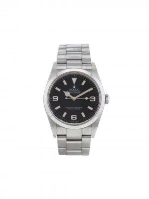 Наручные часы Explorer pre-owned 36 мм 2005-го года Rolex. Цвет: черный