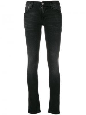Джинсы скинни Nudie Jeans Co. Цвет: черный