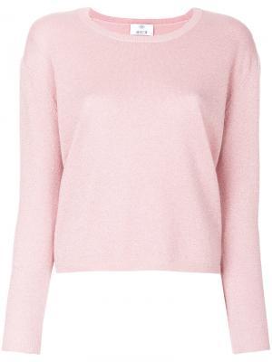 Трикотажный топ Allude. Цвет: розовый и фиолетовый