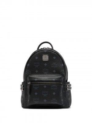 Рюкзак Stark с монограммой MCM. Цвет: черный