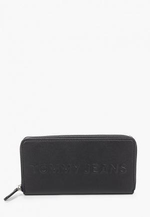 Кошелек Tommy Jeans. Цвет: черный