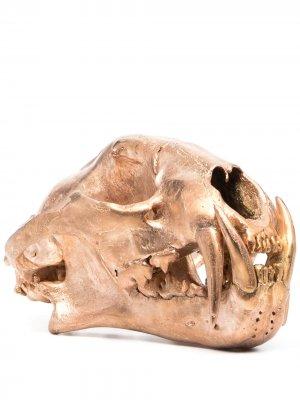 Декоративная статуэтка в форме черепа Parts of Four. Цвет: золотистый