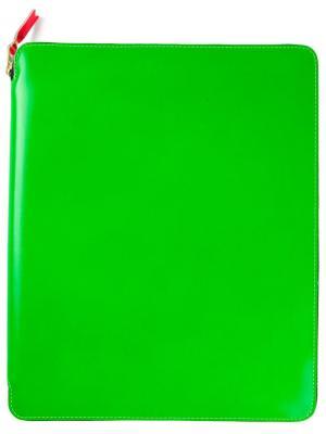 Чехол Super Fluo для ipad Comme Des Garçons Wallet. Цвет: зеленый