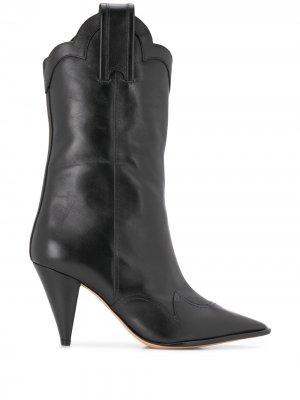 Ковбойские ботинки Alexandre Birman. Цвет: черный