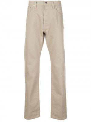 Зауженные джинсы средней посадки Simon Miller. Цвет: нейтральные цвета